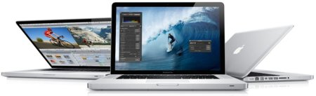 Nuevos Apple MacBook Pro, actualizados con puerto Thunderbolt y procesadores Intel Sandy Bridge