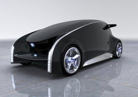Aquí está el coche del futuro: Toyota Fun Vii con realidad aumentada y mucho más