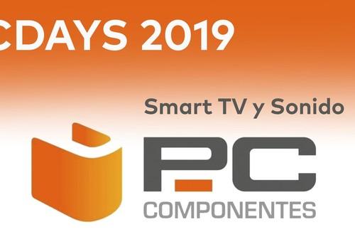 Las 12 mejores ofertas en TV y barras de sonido de los PcDays 2019 en PcComponentes