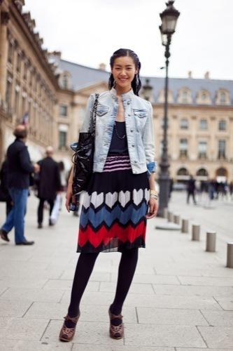 El estilo de calle de las 10 modelos más activas del momento y encuesta para elegir a tu favorita Liu Wen
