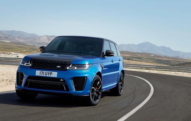 Range Rover Sport SVR 2018: ahora con 575 CV y una velocidad punta de 283 km/h