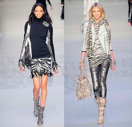 Bluemarine Otoño-Invierno 2010/2011 en la Semana de la Moda de Milán