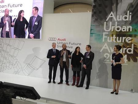 El proyecto Living Mobs hecho por mexicanos ganó el Audi Urban Future 2014