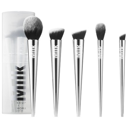 Set De Brochas De Maquillaje Milk