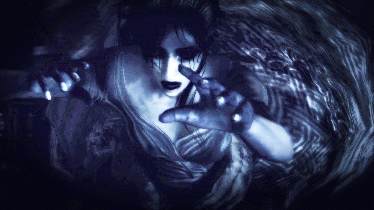 Fatal Frame The Black Haired Shrine Maiden.
