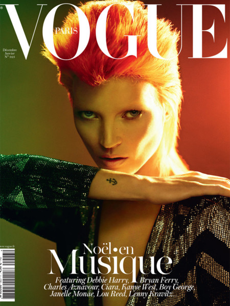 Bowie Vogue kate moss