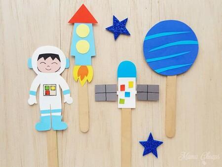 Manualidades Universo Espacio Exterior Cohetes 5