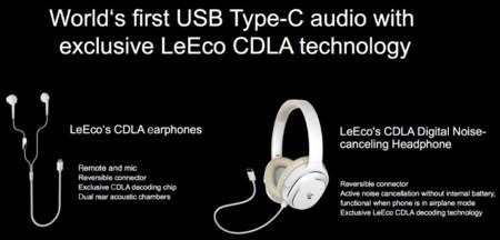 Auriculares con USB tipo-C LeTV