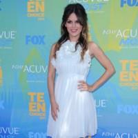 Rachel Bilson Vestido Blanco