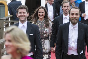 Pippa Middleton se va de boda, así ha sido su primer look de invitada como recién casada