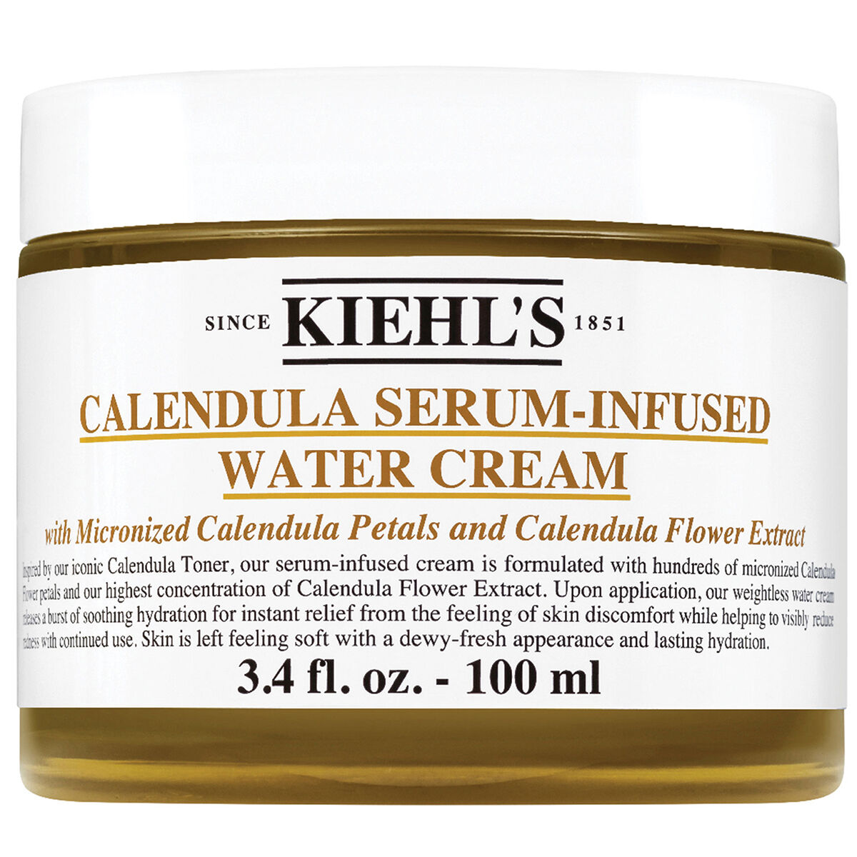 Calendula Serum-Infused Water Cream Khiel´s
