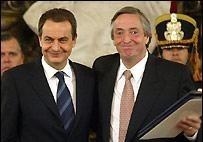 Zapatero garantiza inversiones a Argentina