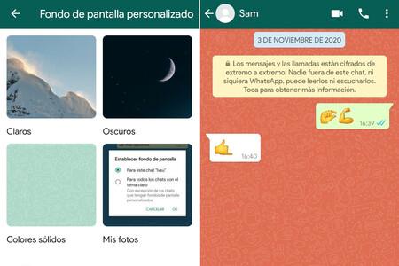"""WhatsApp Beta te permite usar un fondo distinto para cada chat, añade nuevos emojis y prepara """"leer más tarde"""""""