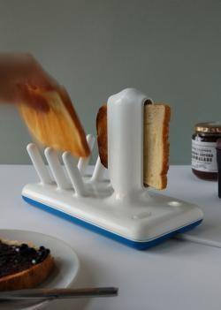 Toasta, una tostadora de cerámica