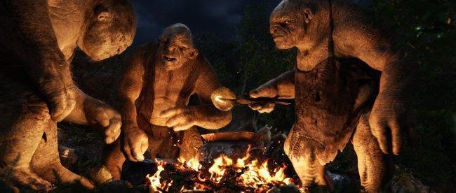 Los Trolls de 'El Hobbit: Un Viaje Inesperado'