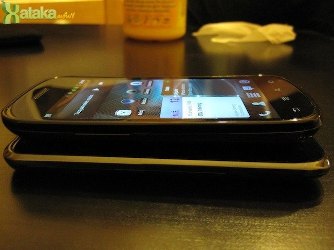 Google Nexus S vs Samsung Galaxy S