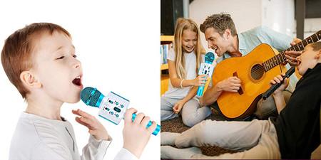 Microfono Karaoke Bluetooth Fishoaky Microfono Inalambrico