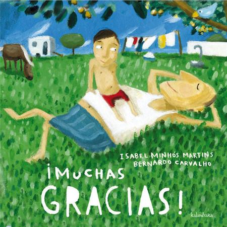 ¡Muchas gracias!, álbum infantil ilustrado que está dirigido a las personas importantes que pasan por la vida de los niños