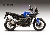 Yamaha MT-09 Ténéré Concept, MT-09 Worldcrosser Concept y MT-09 Cafe Concept