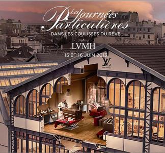 """LVMH anuncia la segunda edición de sus """"Journées Particulières"""""""