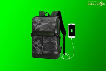Transporta tu MacBook o iPad de manera segura con esta mochila multifunción con USB por apenas 10 euros en Amazon, su mínimo