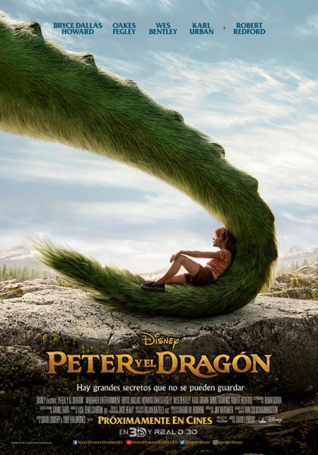 """""""Peter y el dragón"""" de Disney, sobrevuelan los cines muy pronto"""