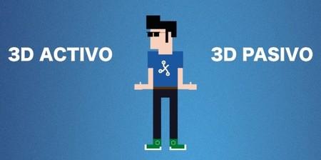 ¿3D Activo o 3D Pasivo? Conoce las diferencias