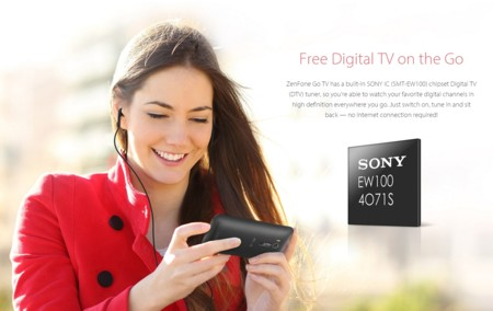 Sintonizador Sony IC de TV