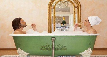 Un hotel en Londres ofrece baños en champagne