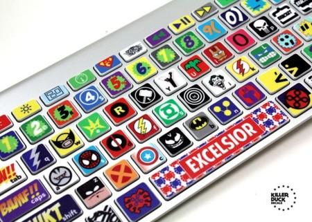 teclado superheroe