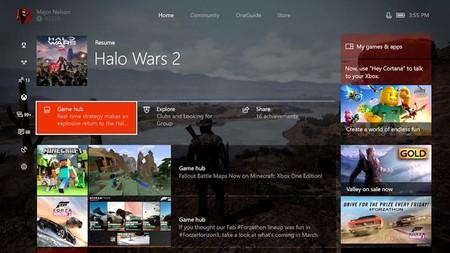 La nueva interfaz de Xbox One ya se encuentra disponible