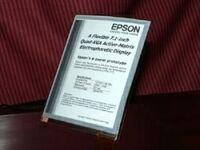 Epson A6 QXGA, otra de papel electrónico