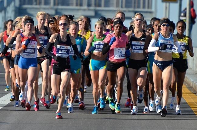 mujeres maraton