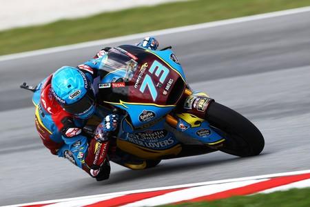 Álex Márquez luchará por el título de Moto2 saliendo desde la pole position en Sepang