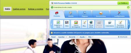 Presencia en Internet de Telefónica, creación de la web de forma fácil para la pyme