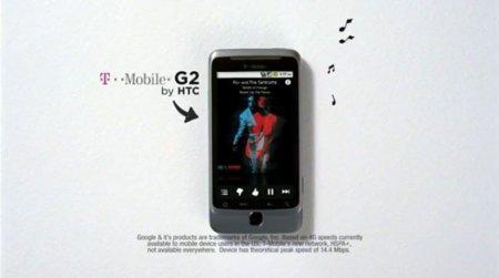 T-Mobile G2, dos nuevos anuncios alaban sus bondades