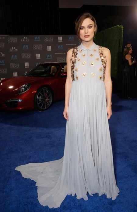Keira Knightley Delpozo Critics Choice Movie Awards 2015