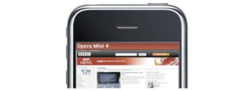 Opera mini no verá la luz en el iPhone