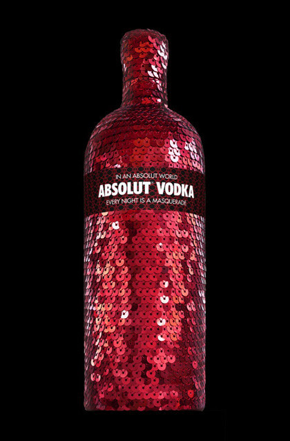 Absolut Masquerade: vodka con lentejuelas para esta Navidad