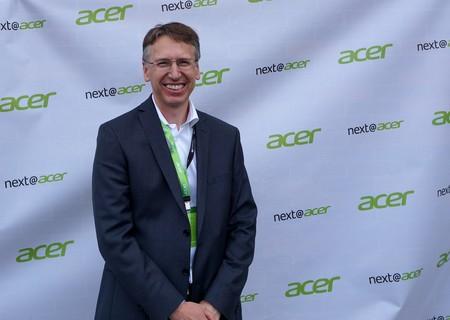"""""""El momento de las tablets ha pasado, ahora hay más innovación en el PC"""", Emmanuel Fromont de Acer"""
