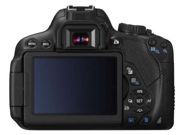 Canon 650D con pantalla táctil