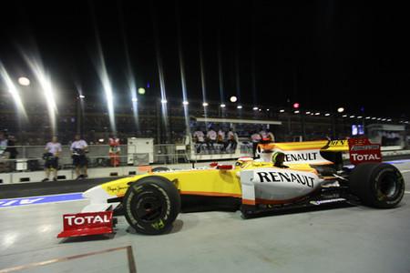 Rubens Barrichello y Sebastian Vettel dominan el primer día en Singapur
