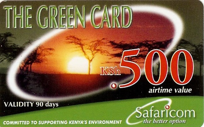 safaricom card