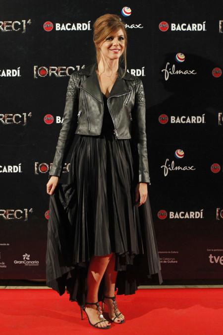 Manuela Velasco Rec Dior vestido cazadora