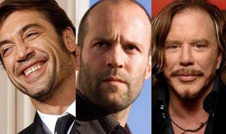 Javier Bardem, Jason Statham y Mickey Rourke en lo nuevo de Tony Scott