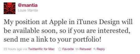 El responsable de iAd Andy Miller y el diseñador Louie Mantia dejan Apple