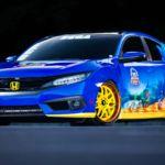¿Te acuerdas de Sonic? Honda sí, y celebran los 25 años del erizo con este espectacular Civic