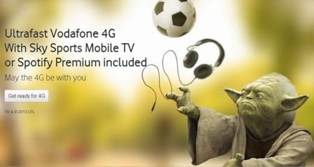 Vodafone exige permanencia para acceder al 4G