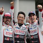 Fernando Alonso, Sébastien Buemi y Kazuki Nakajima conquistan las 24 Horas de Le Mans 2018 junto a Toyota