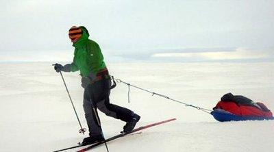 La primera mujer que cruza la Antártida en solitario